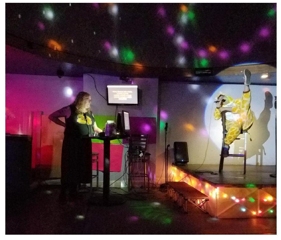 Karaoke Pizza Party 15 Feb 2020